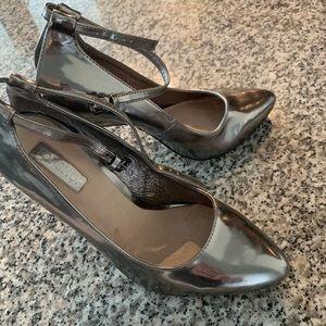 Dark silver Topshop heels